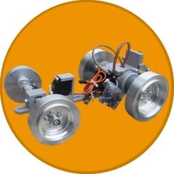 RC Traktor Chassis für Bruder Umbau