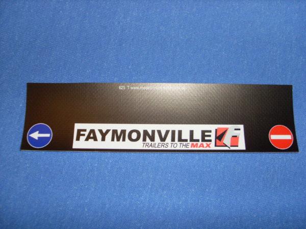 Spritzschutzschürze Faymonville
